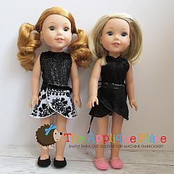 -14 Inch Doll Clothing Set - Fun & Fancy