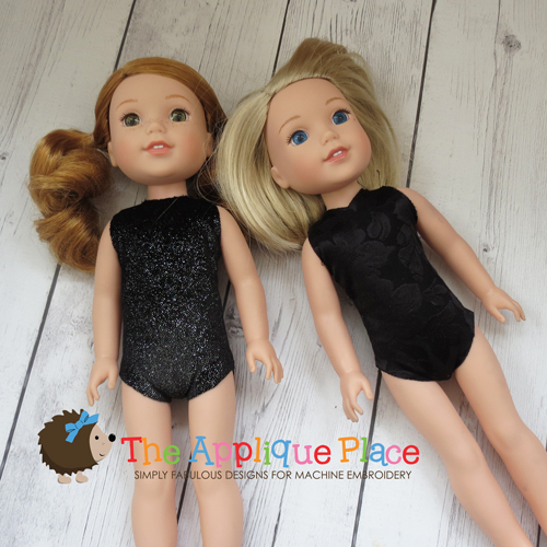 14 Inch Doll Leotard and Swimsuit