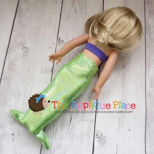14 Inch Doll Mermaid Outfit