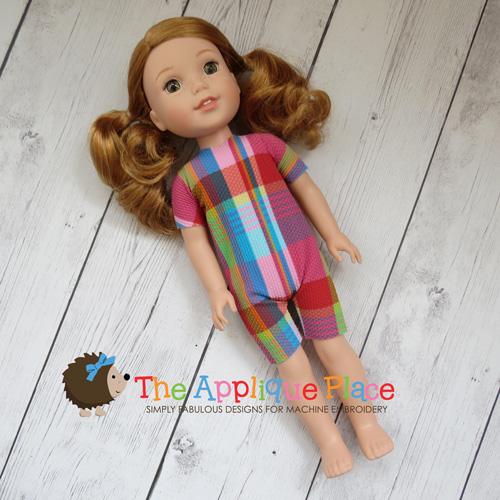 14 Inch Doll Romper