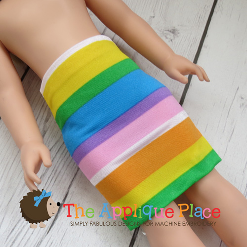 14 Inch Doll Mini Skirt