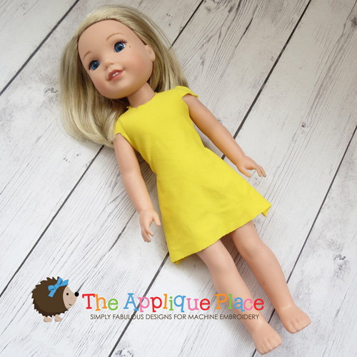 14 Inch Doll Simple Dress