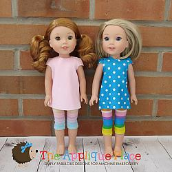 -14 Inch Doll Clothing Set - Out & About