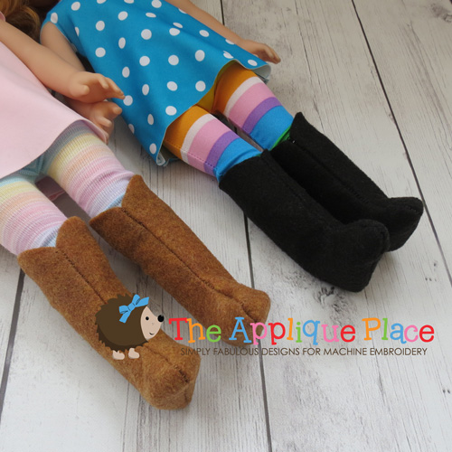 14 Inch Doll Boots