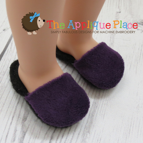 14 Inch Doll Slippers