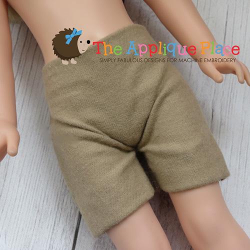 14 Inch Doll Shorts