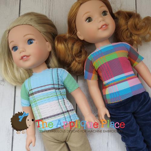 14 Inch Doll Shirt 2