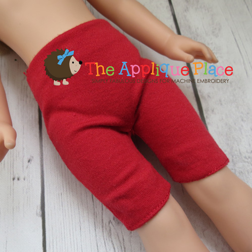 14 Inch Doll Bike Shorts