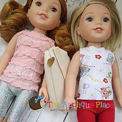 -14 Inch Doll Clothing Set - Wardrobe Basics