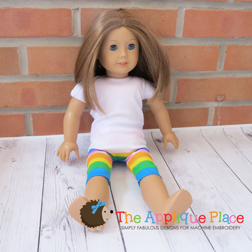 18 Inch Doll Capri Leggings