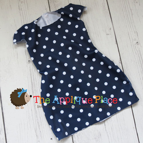 18 Inch Doll Simple Dress