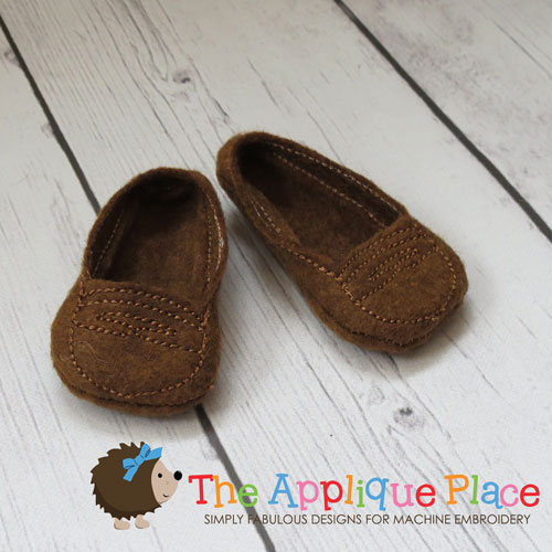 18 Inch Doll Loafers