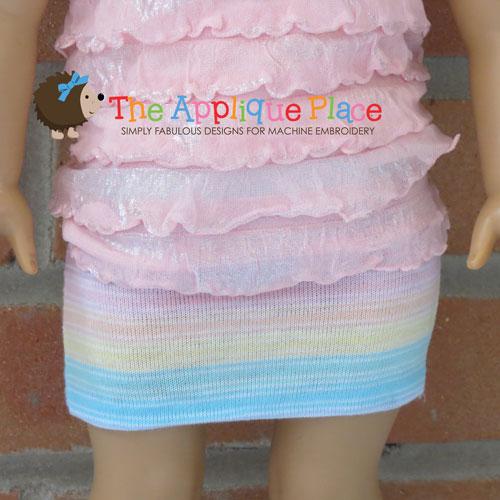 18 Inch Doll Mini Skirt