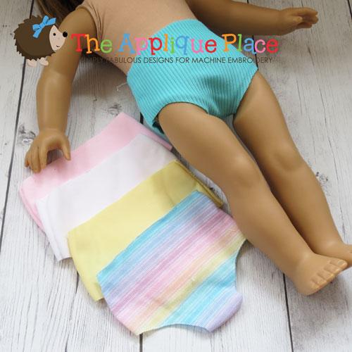 18 Inch Doll Underwear