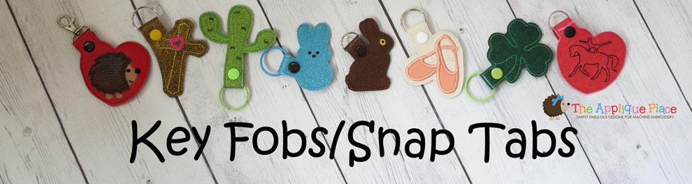ITH Key Fobs/Snap Tabs