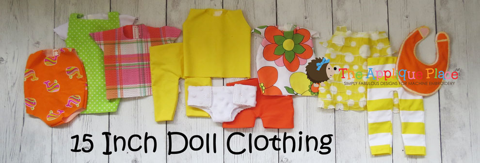 15 Inch Doll Clothing