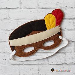 Mask - Native American Boy