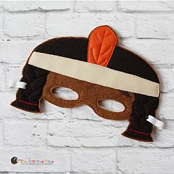 Mask - Native American Girl
