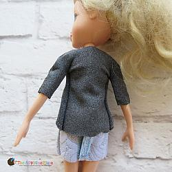 10 Inch Doll Cardigan