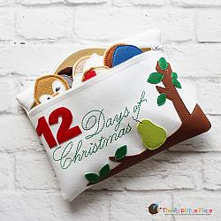 In the Hoop 12 Days of Christmas Puppet Bag
