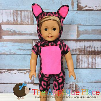 18 Inch Doll Cat Suit