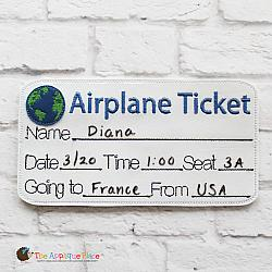 ITH - Airplane Ticket