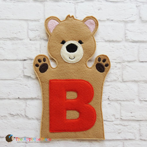 Puppet - B for Bear