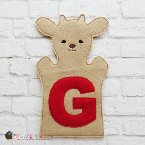 Puppet - G for Goat