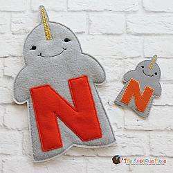 Puppet - N for Narwhal