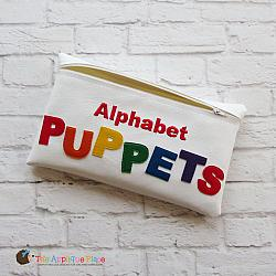 In the Hoop Alphabet Puppet Bag