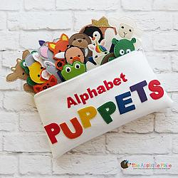 Puppet Set - Alphabet (FINGER Puppets ONLY)