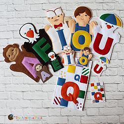 Puppet Set - Add-on Alphabet - Vowels