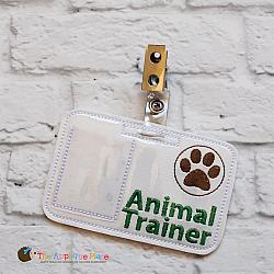 ITH - Animal Trainer Badge ID Tag