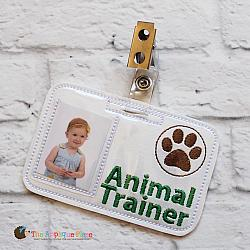 ITH - Animal Trainer Badge ID Tag
