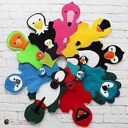 Puppet Set - Birds