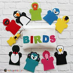 Puppet Set - Birds (FINGER Puppets ONLY)