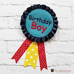 ITH - Birthday Boy Badge