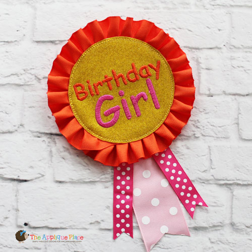 ITH - Birthday Girl Badge