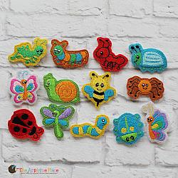 Felties - Bugs - Set of 13