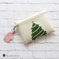 In the Hoop Christmas Tree Bag and Ballet Shoes Bag Tag