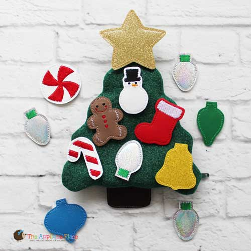 Felties - Christmas Tree - Set of 10 PLUS Bag