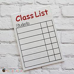 ITH - Class List