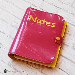 Notebook Case - Cover for 5x7 Spiral Bound Notebook with Pen