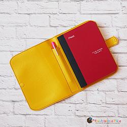 Notebook Case - Cover for 5x7 Side Loading Notebook with Pen
