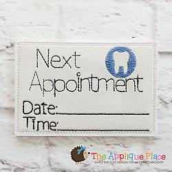ITH - Dentist Appointment Card