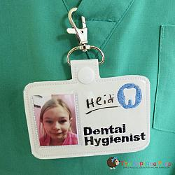 ITH - Dental Hygienist Badge ID Tag
