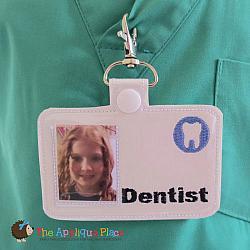 ITH - Dentist Badge ID Tag