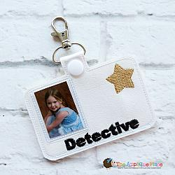 ITH - Detective Badge ID Tag