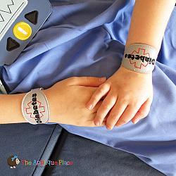 ITH - Medical Alert Bracelet/Double Key Fob - Diabetes