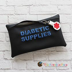 ITH - Diabetic Supplies Bag and Alert Tag
